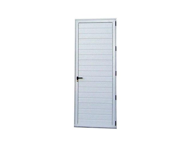 Pedestrian door, fanlight and fillings