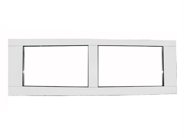 Sezioni vetrate assemblate