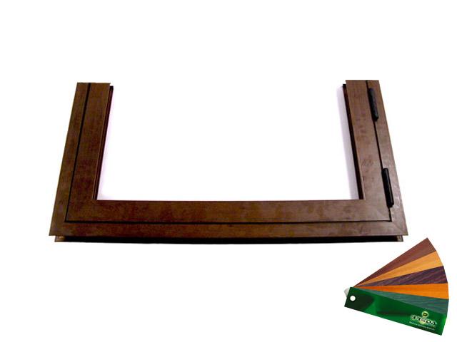 Porta pedonale inserita